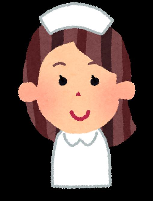 茶髪看護師女性
