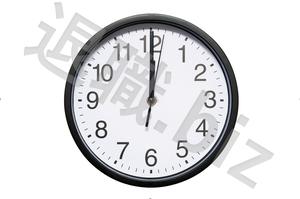 12時差す時計